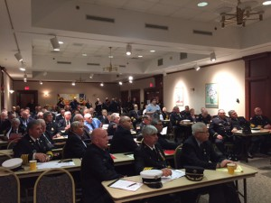 More than 100 fire service leaders gathered in Albany for Fire Service Government Affairs Day May 4.