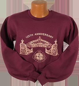 125th Anniversary Crewneck Sweatshirt