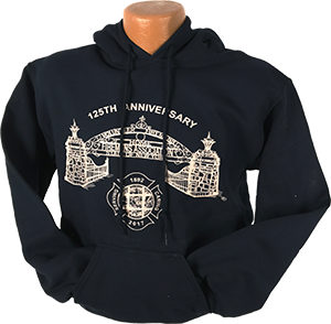 125th Anniversary Hooded Sweatshirt