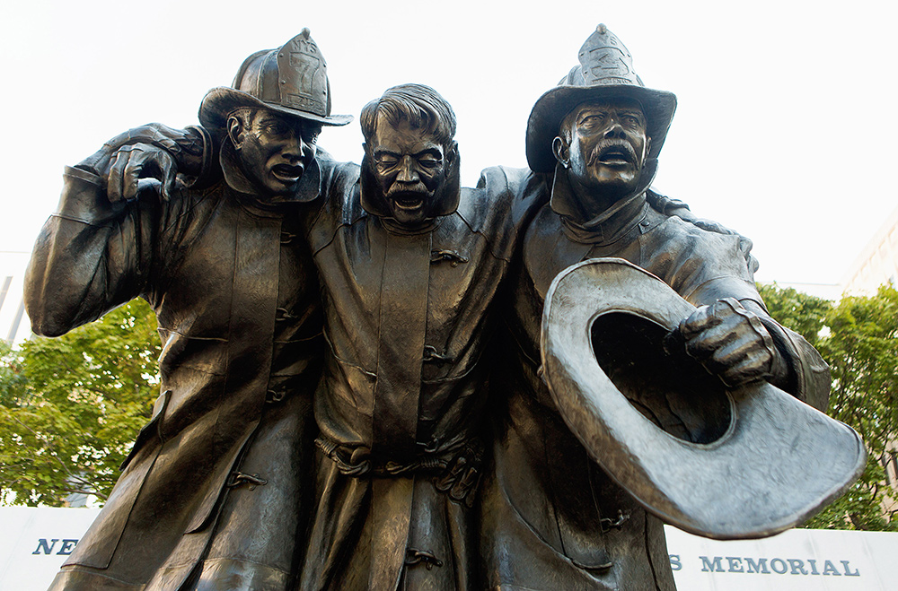 Fallen Firefighters Statue